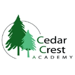 Логотип Cedar Crest Academy