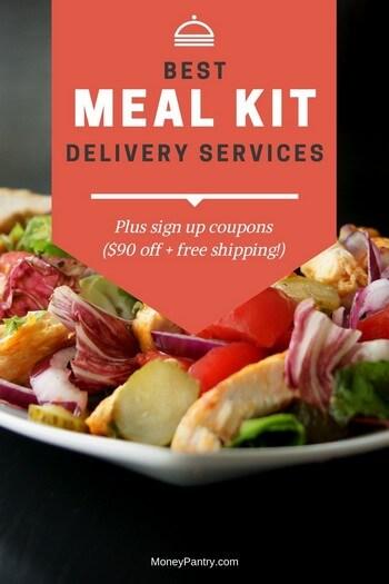 Вот список лучших услуг доставки комплектов еды, плановые цены и промо-коды, чтобы сэкономить при регистрации ...