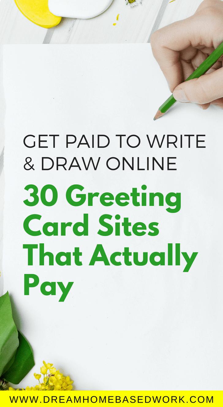 Платите, чтобы писать и рисовать онлайн: 30 сайтов с открытками, которые на самом деле платят