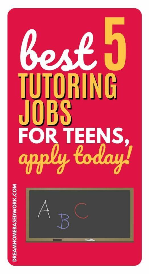 Знаете ли вы, что есть подростковые рабочие места для репетиторов? Вы можете работать из дома и зарабатывать на своих условиях с помощью этих 5 гибких онлайн-учебных курсов. #teens #jobs #makemoneyonline